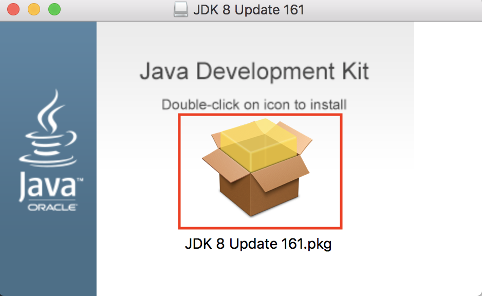 JDKのインストール